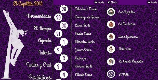 El Capillita 2015 para seguir la Semana Santa de Sevilla