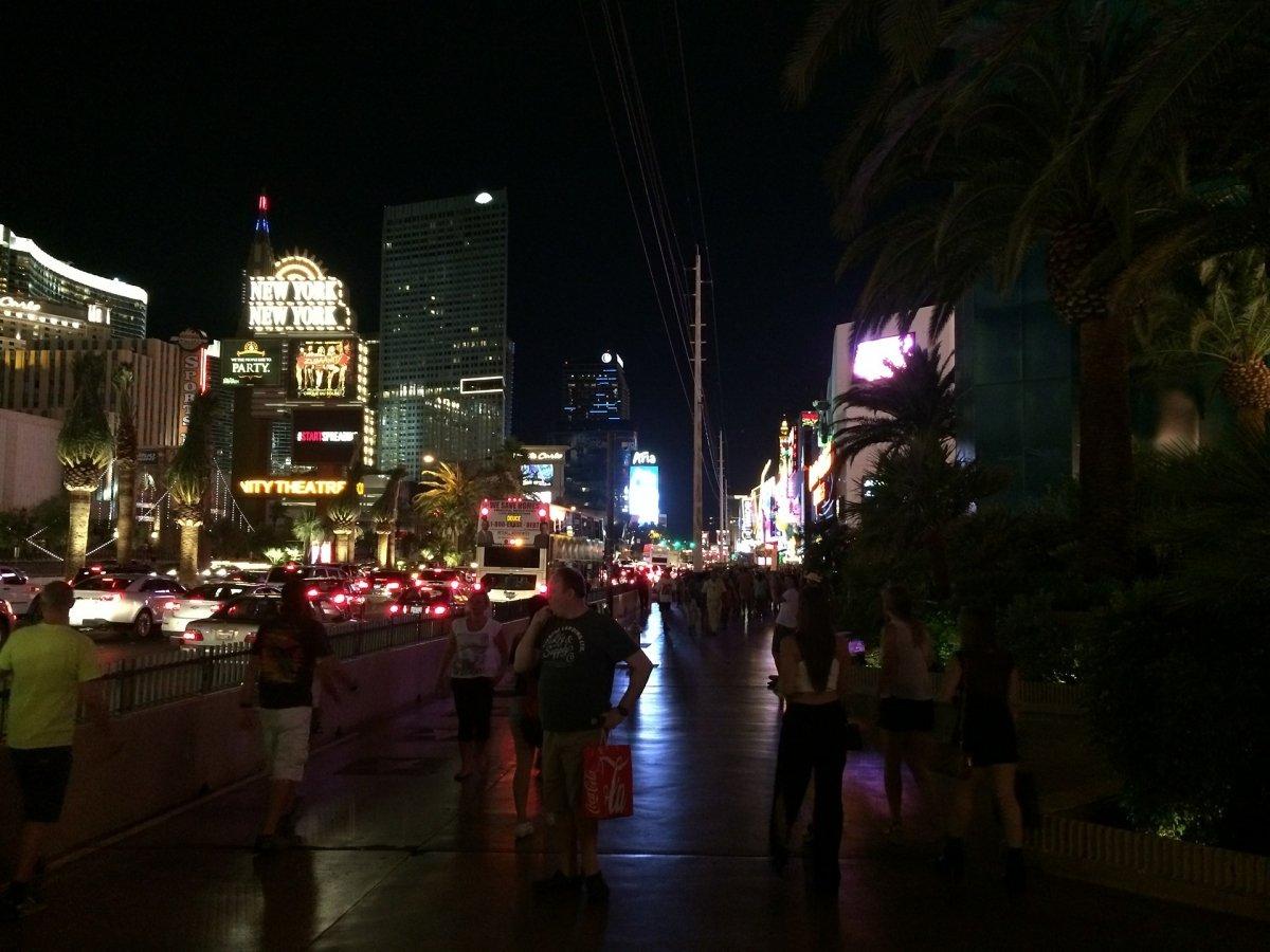 El combate se celebra en la ciudad de Las Vegas