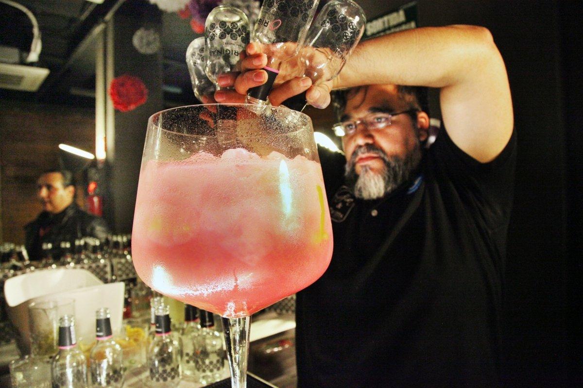 El Gin Tonic Premium fue parte del menú