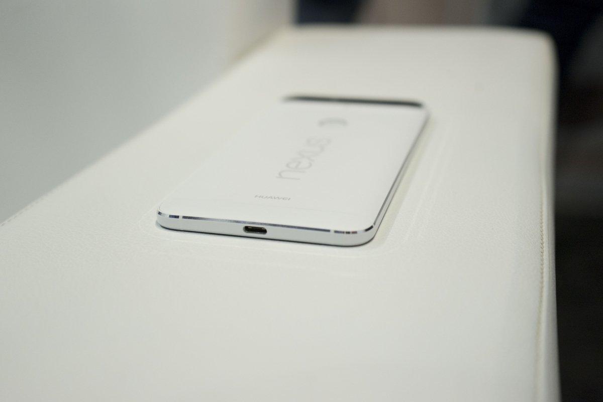 El Google Nexus 6P es un ejemplo de cómo se puede implementar esta tecnología en un smartphone