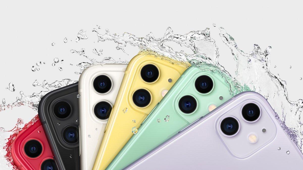El iPhone 11 es resistente al agua