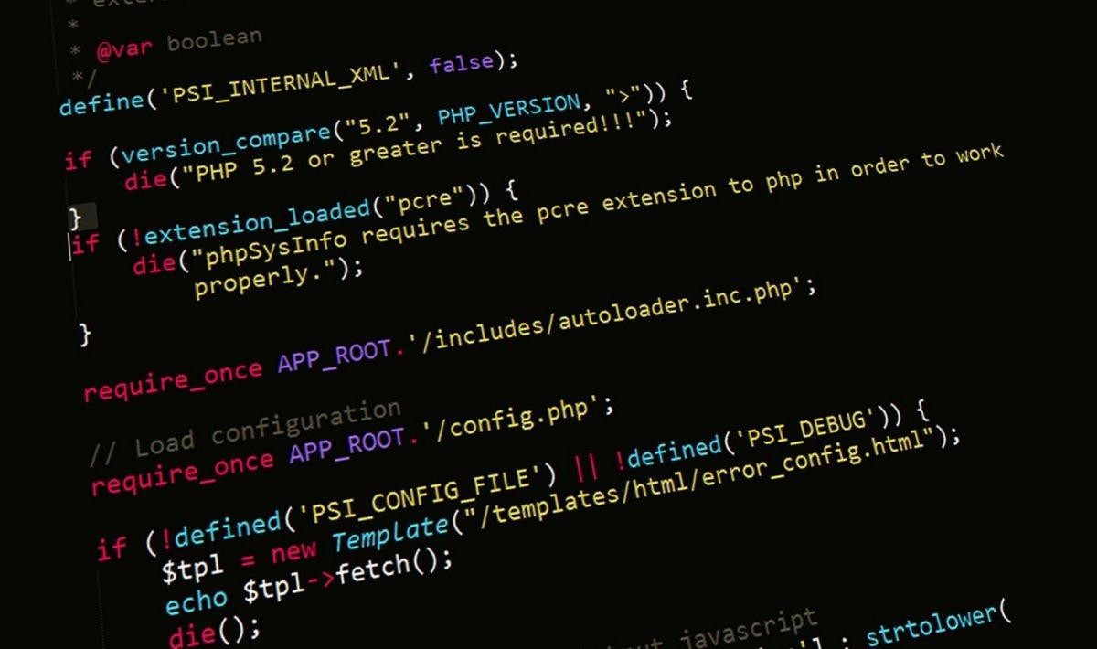 El lenguaje de scripts es interpretado, no necesita ser compilado para su ejecución