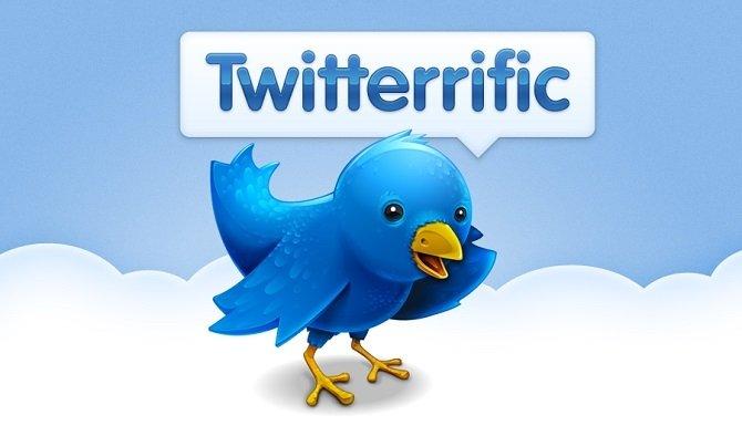 El logotipo de Twitterrific