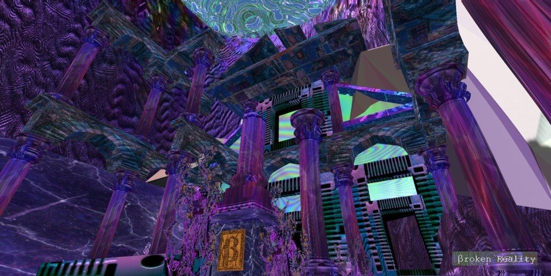 El púrpura es el color que predomina en el juego