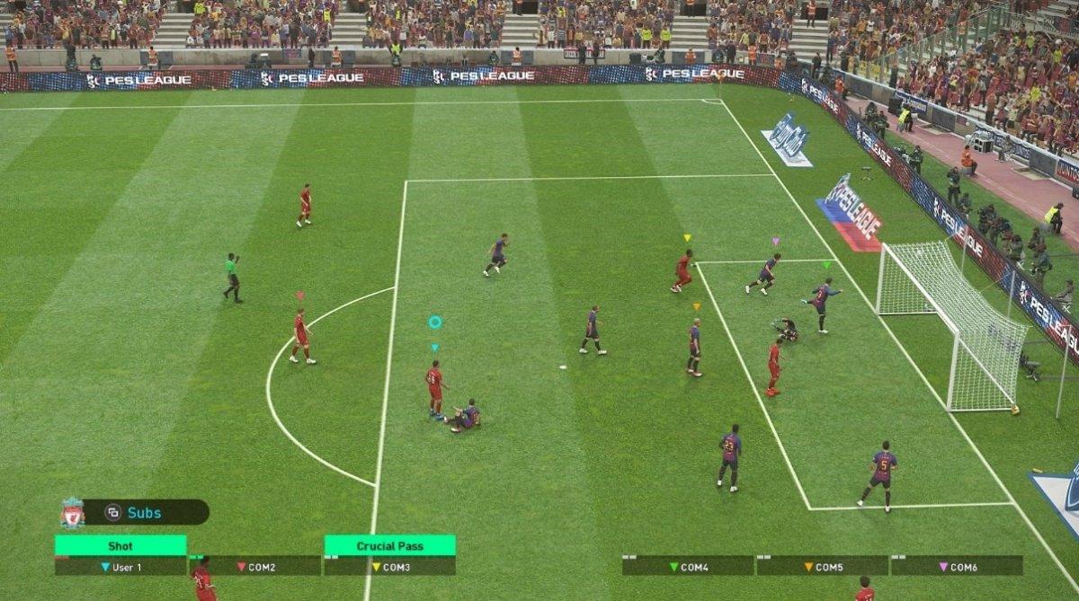 El simulador de PES 2019 ha ganado en jugabilidad