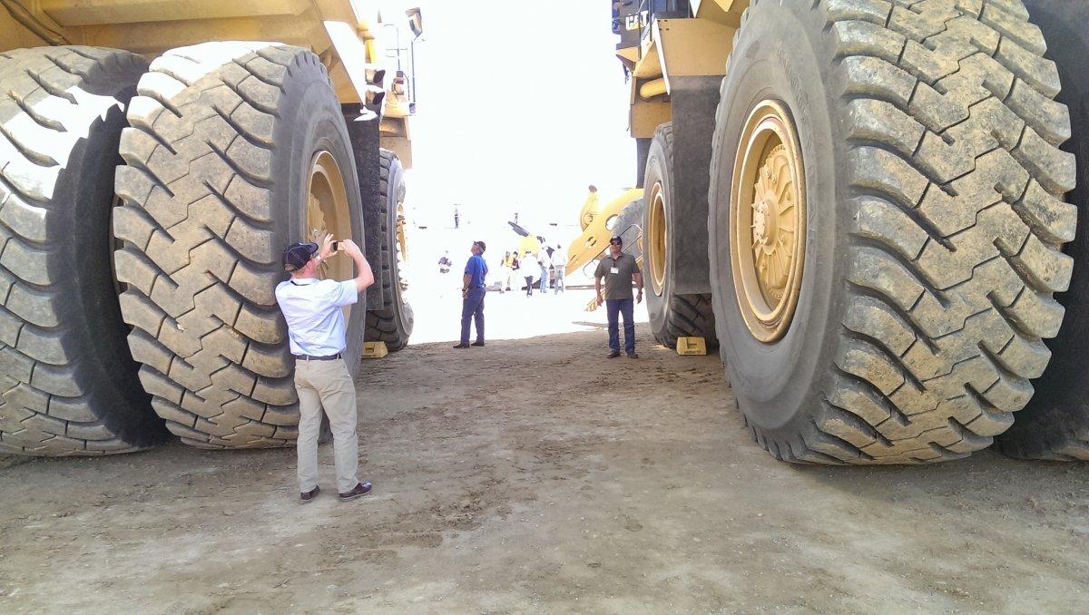 El tamaño y peligrosidad de estas máquinas es evidente