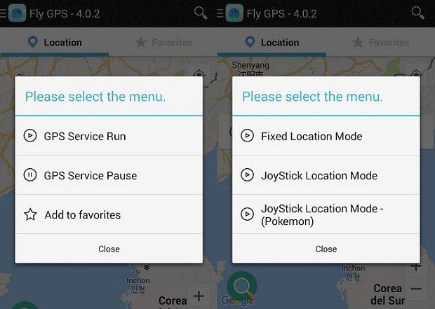 Elige el modo de Joystick Location para moverte por el mundo dentro de Pokémon GO