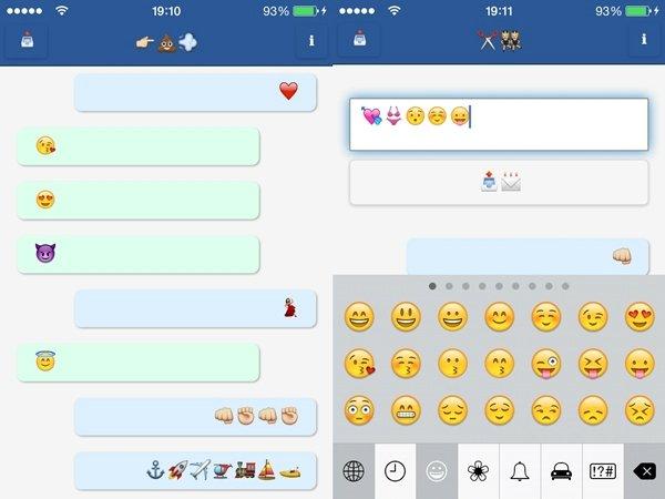 Emojli, la aplicación de mensajería que sólo te permite enviar emojis - imagen2