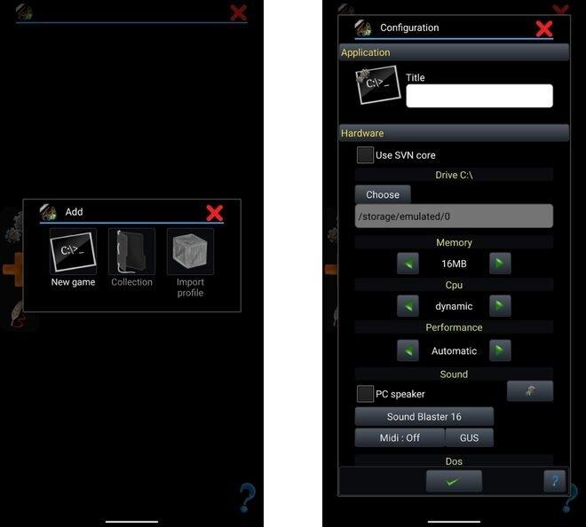 Emulador de juegos de PC en Android