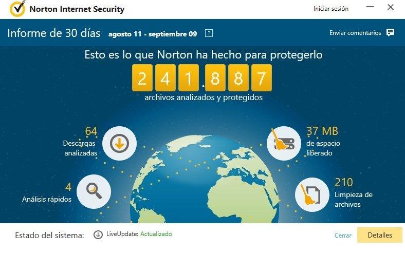 En el panel de control del antivirus podremos ajustar la protección contra sitios maliciosos