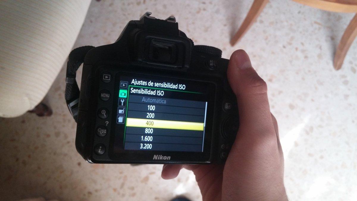En función de nuestra cámara, tendremos más o menos ruido al usar un ISO más alto