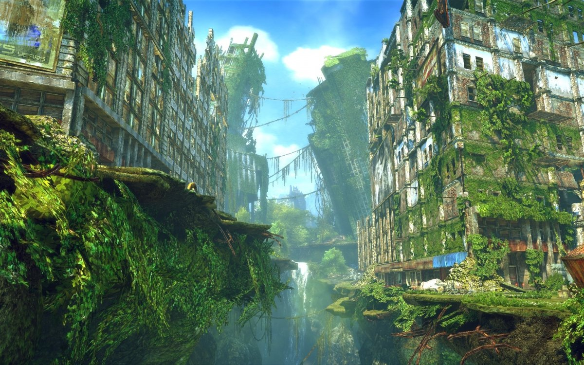 Enslaved: Odyssey to the West. El apocalipsis puede ser verde y precioso