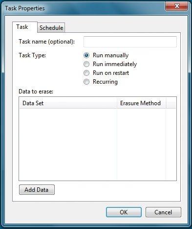 Eraser software de limpieza detalle