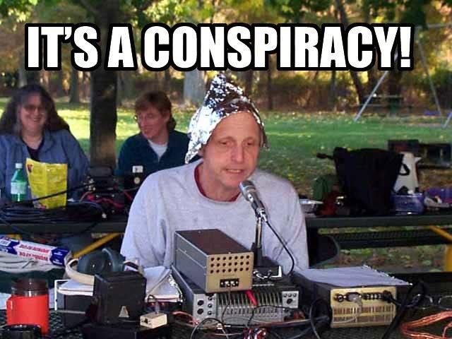 ¡Es todo una gran conspiración!