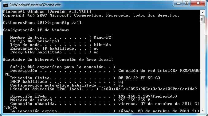 Escritorio remoto Windows 7 4