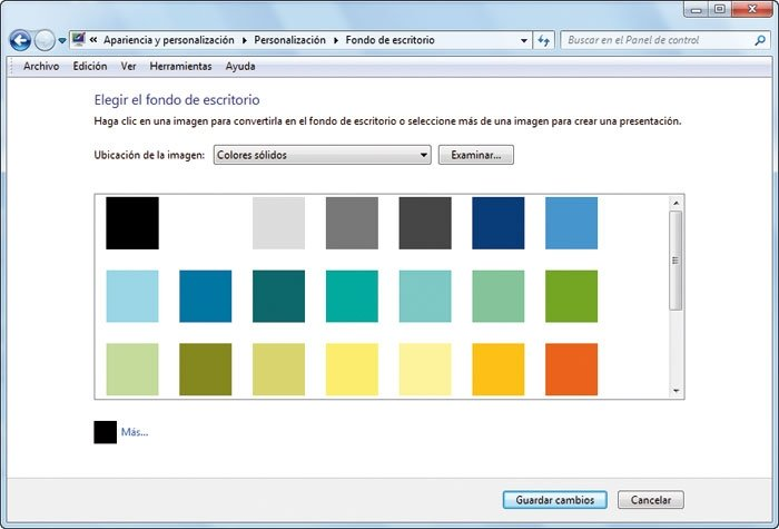 Escritorio Windows 7 liviano 3