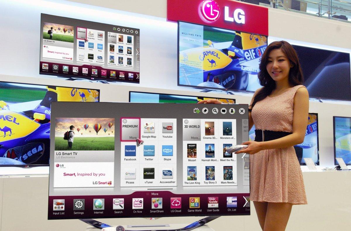 Esta es una de las Smart TV presentadas por LG