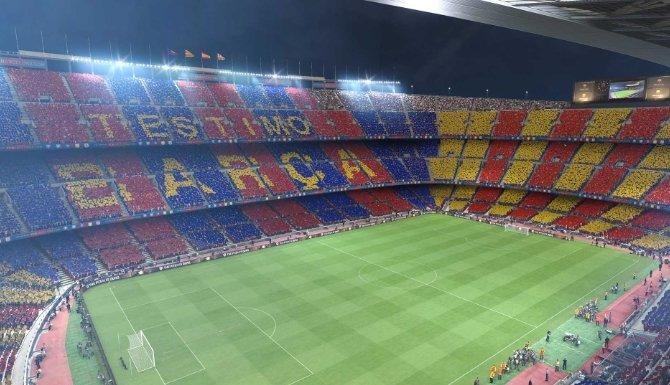 Estadio del Barcelona en PES 2017