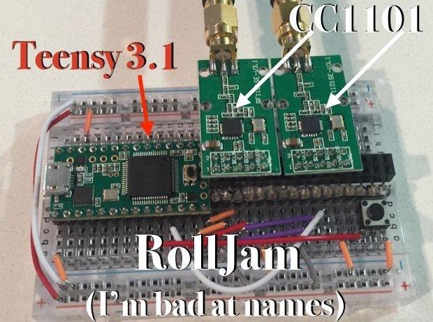 Este es el aspecto del RollJam diseñado por Samy Kamkar