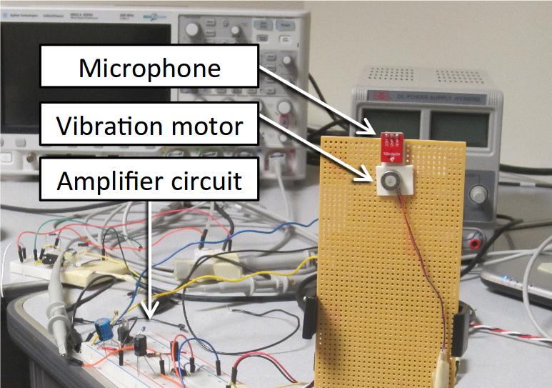 Este es el hardware que utilizaron los investigadores para llevar a cabo el experimento