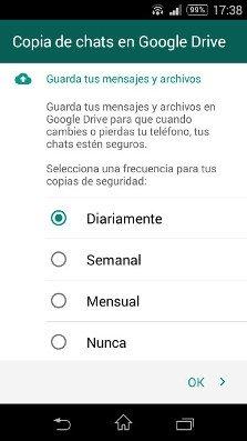 Este es el mensaje de bienvenida de la nueva versión de WhatsApp