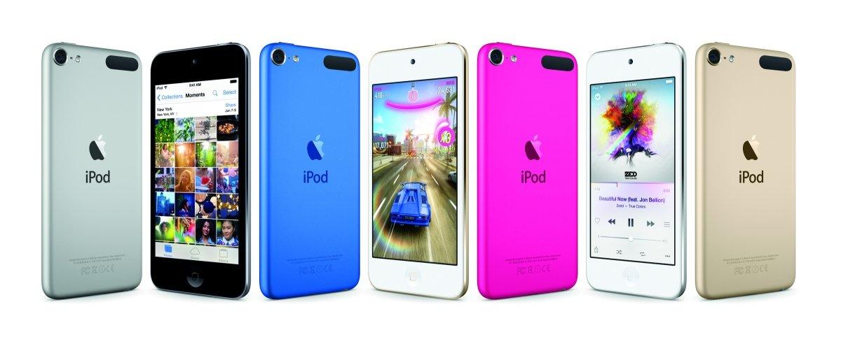 Estos son los nuevos modelos de iPod touch