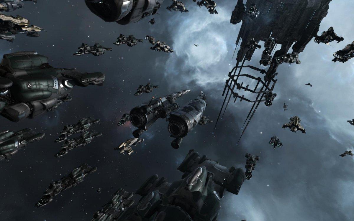EVE Online es un juego que se desarrolla en el espacio
