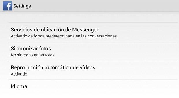 Evita la reproducción automática de vídeos en Facebook para Android - imagen 3