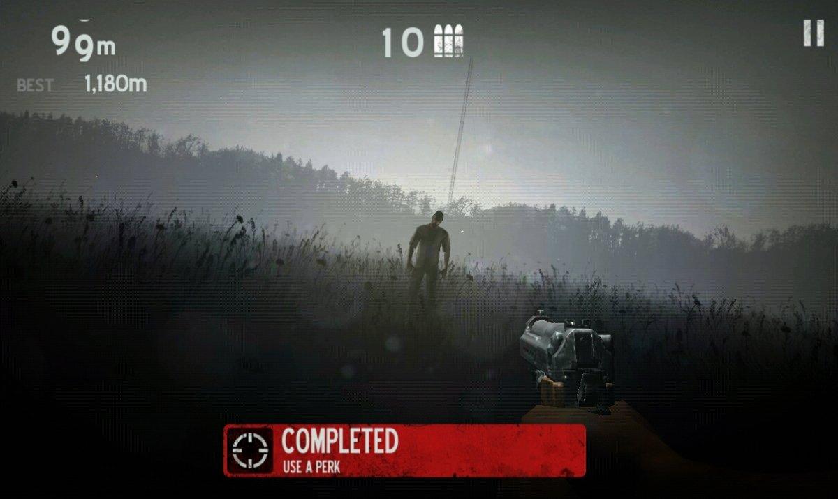 Evita los zombis de Into the Dead 2