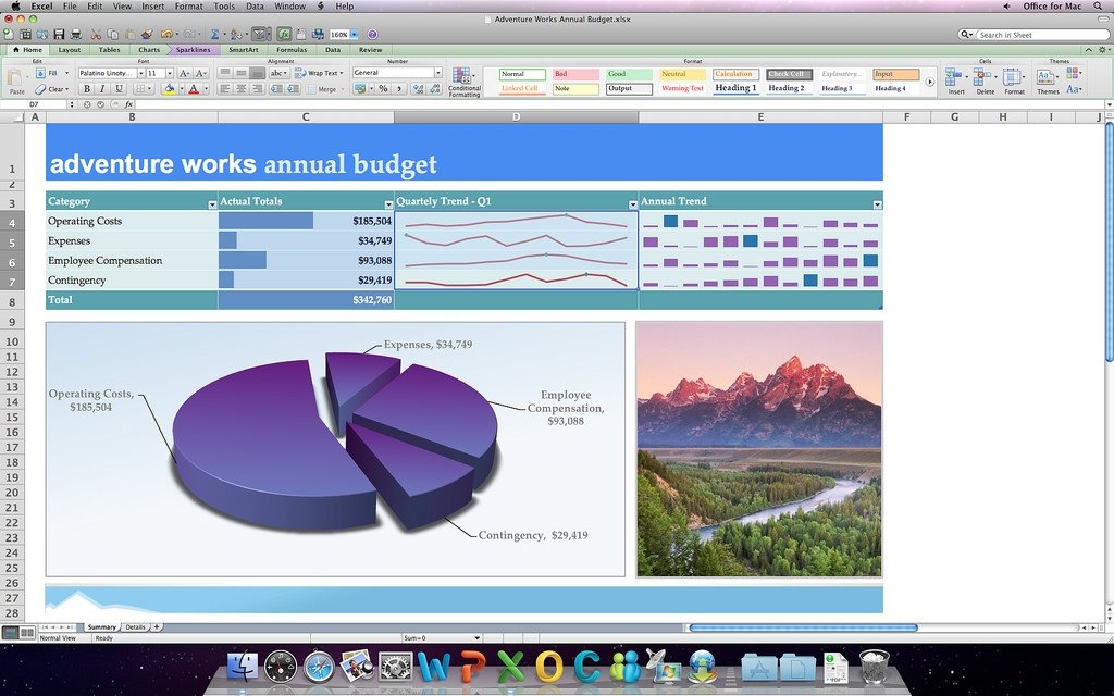 Excel en OS X