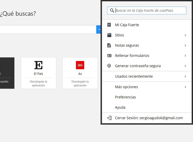 Extensión de LastPass para Microsoft Edge