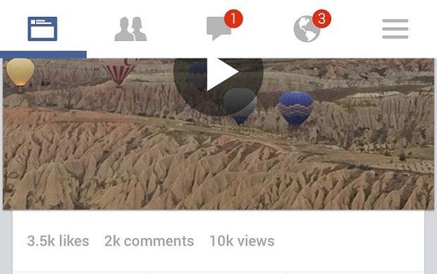 Facebook añade un contador de visualizaciones a sus vídeos - imagen 2