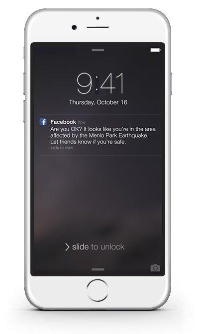 Facebook lanza Safety Check para ayudar en desastres naturales - imagen 3