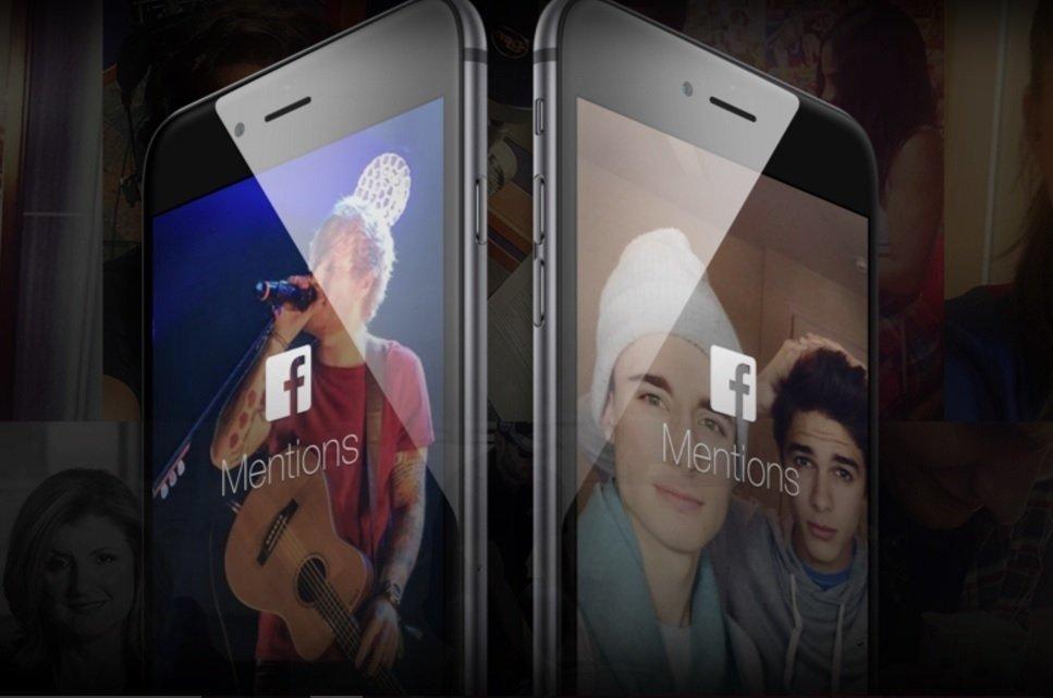 Facebook mentions publicidad