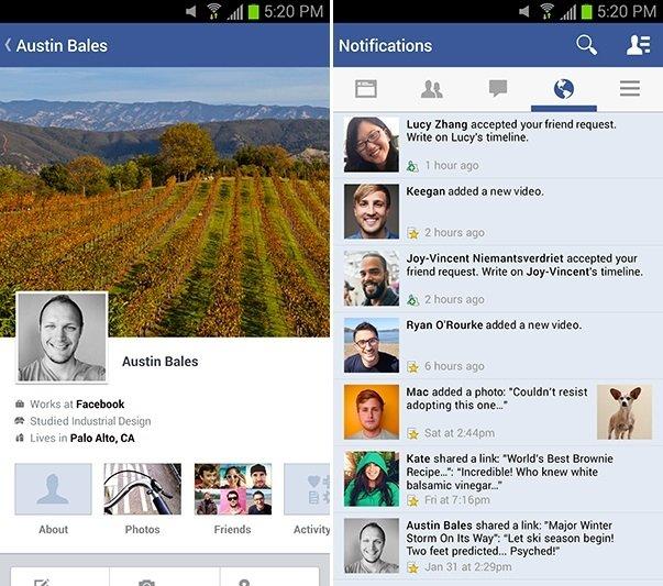 Facebook supera la barrera de los mil millones de descargas