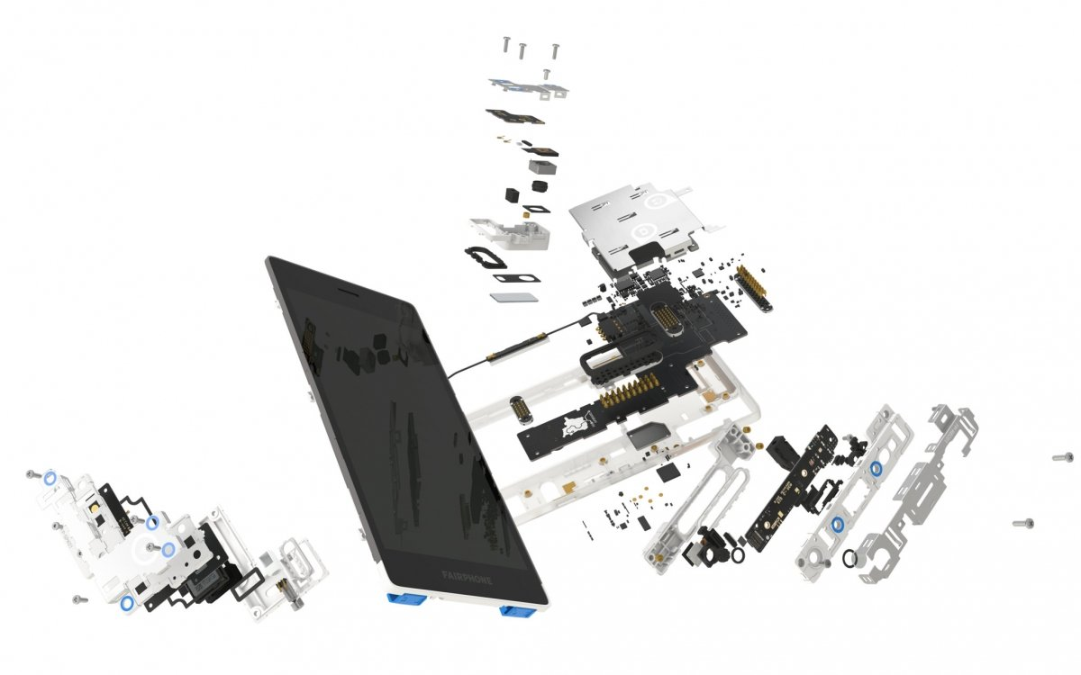 Fairphone 2 es modular