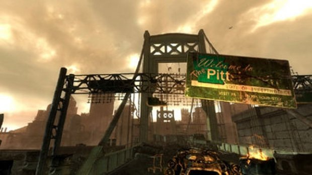 Fallout 3 The Pitt - Visita las profundidades de La Fosa