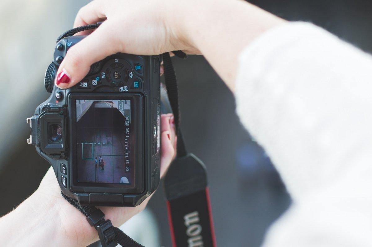 Fotografiando una fotografía