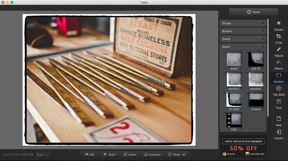 Fotor para macOS