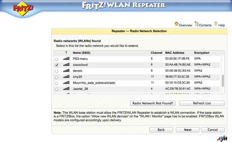 Fritz! WLAN Repeater