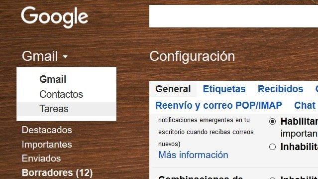 Función para crear listas en Gmail