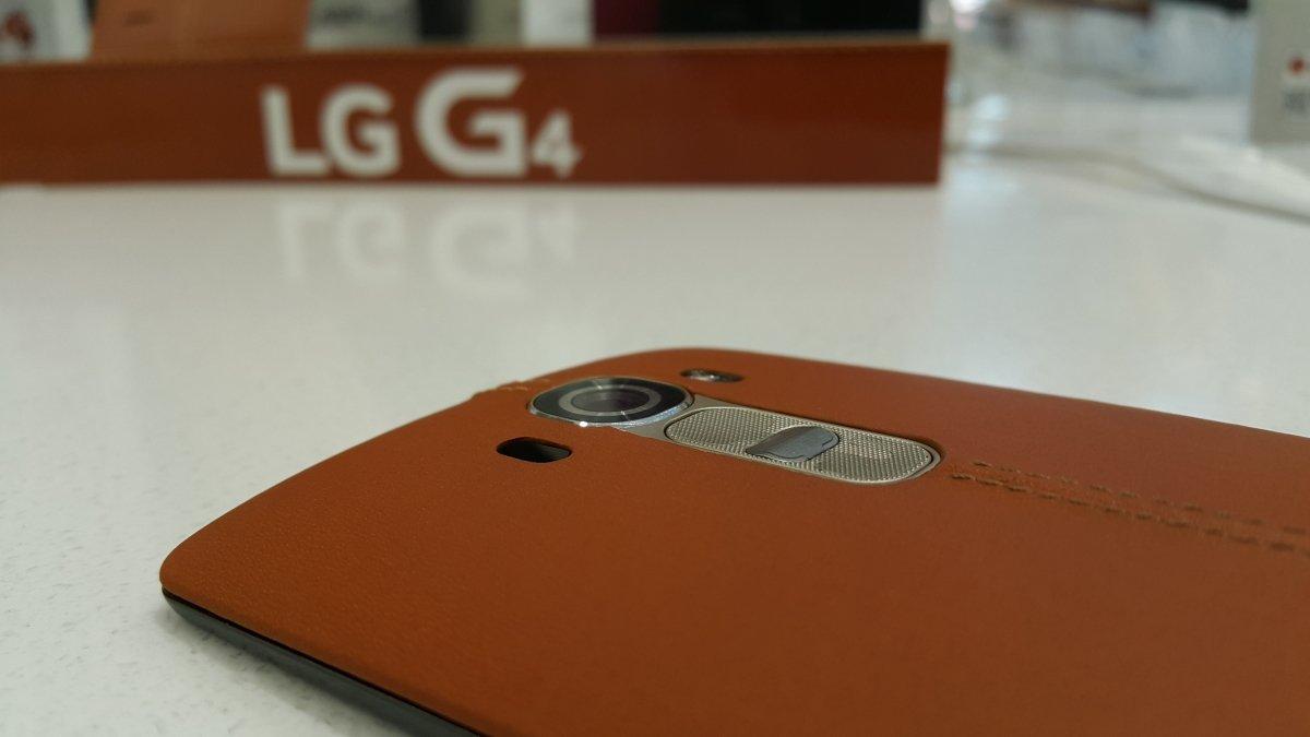 Funda del cuero del LG G4