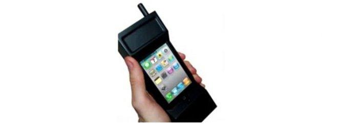Funda para smartphone retro tipo brick de los 80