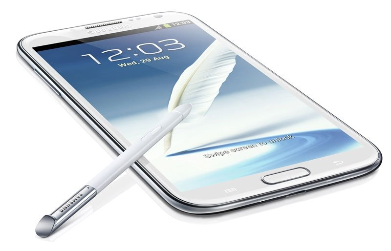 Galaxy Note II detalle