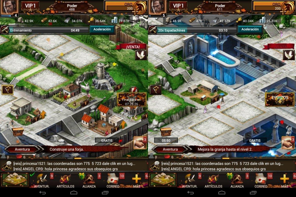 Game of War es un juego de estrategia en tiempo real con mucho éxito