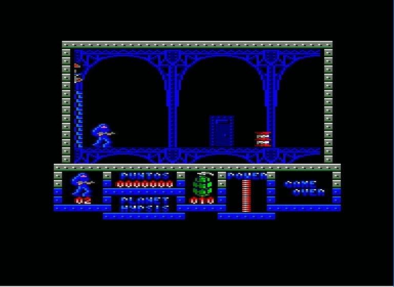 Game Over de Dinamic Software en Amstrad CPC