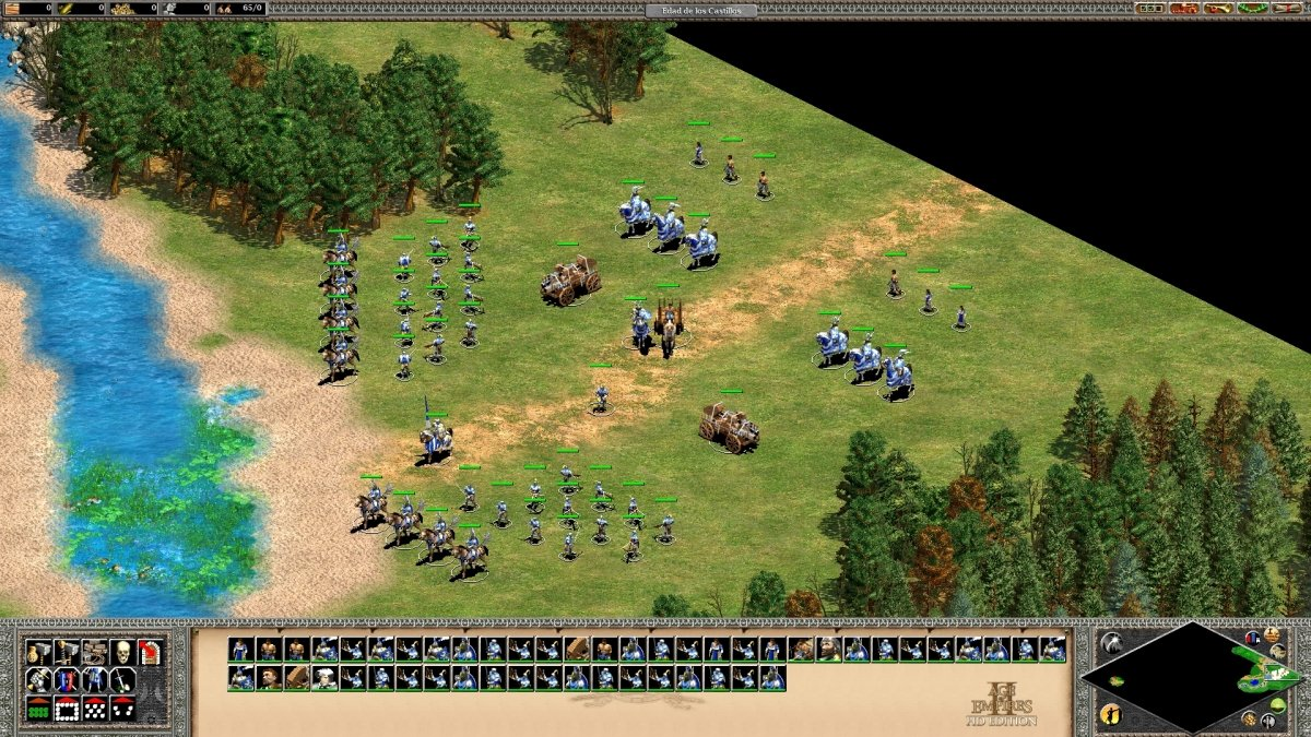 Gameplay de Age of Empires 2