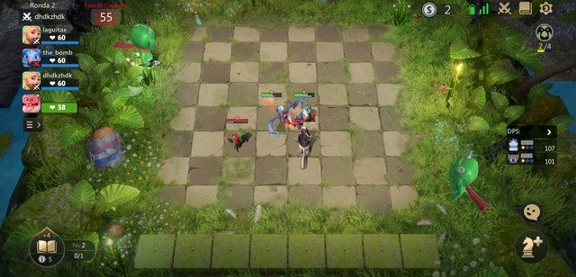 Gameplay de Auto Chess en Android