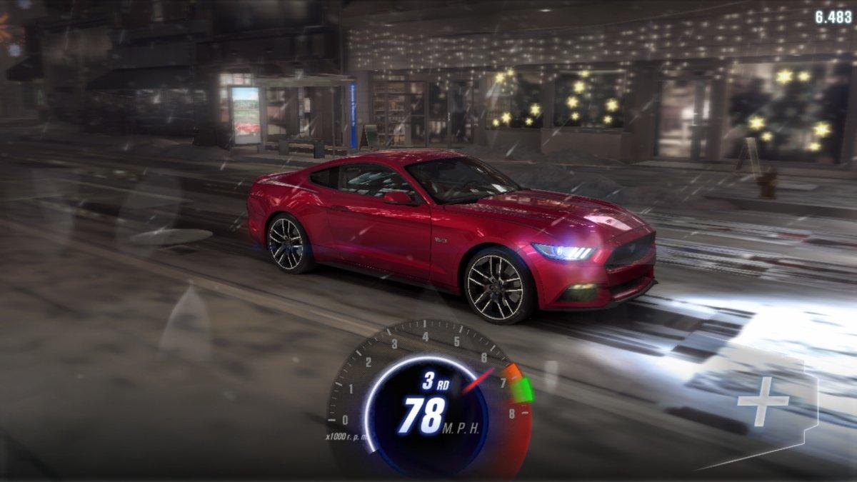 Gameplay de CSR Racing 2