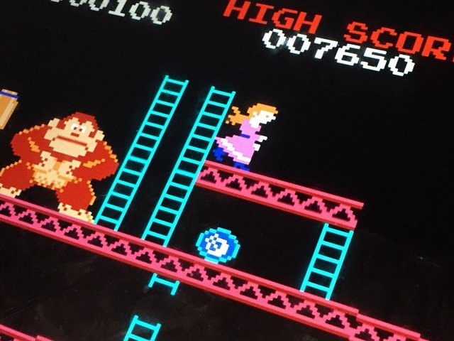 Gameplay de Donkey Kong